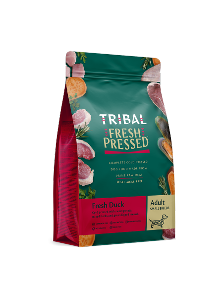 TRIBAL FRESH PRESSED FROM RAW – Fresh Duck – Adult