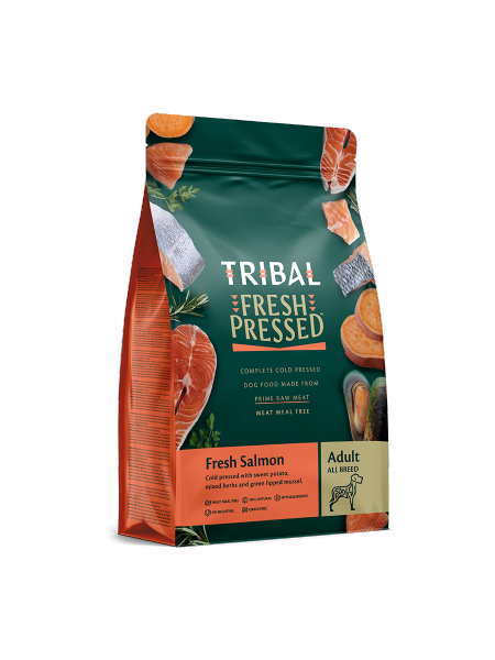 TRIBAL FRESH PRESSED FROM RAW – Fresh Salmon – Adult