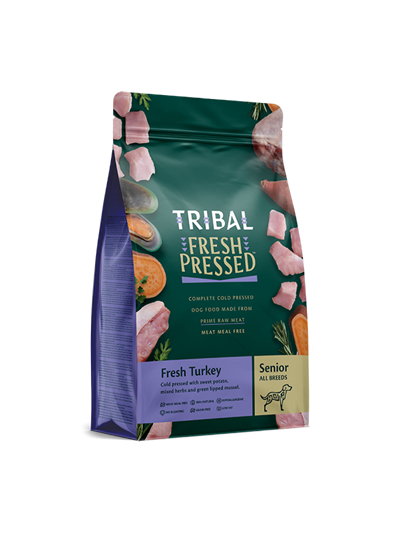 TRIBAL FRESH PRESSED FROM RAW – Fresh Turkey – Senior