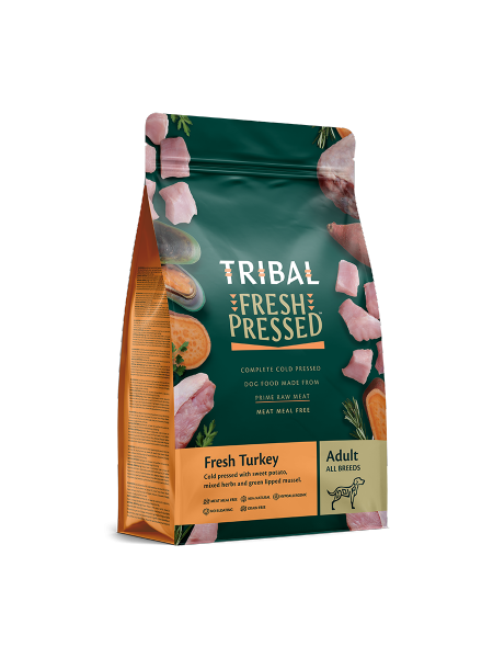 TRIBAL FRESH PRESSED FROM RAW – Fresh Turkey – Adult